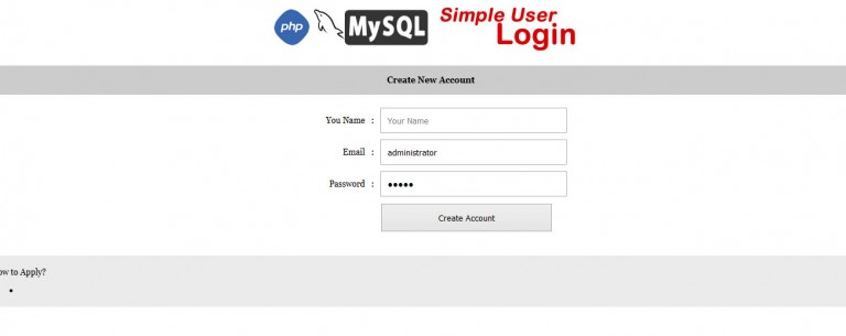 Simple PHPMysql Login With Forgot Password-3
