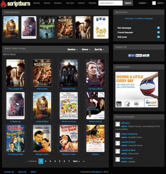 Wordpress Movie Plugin