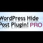 wordpress hide post pro